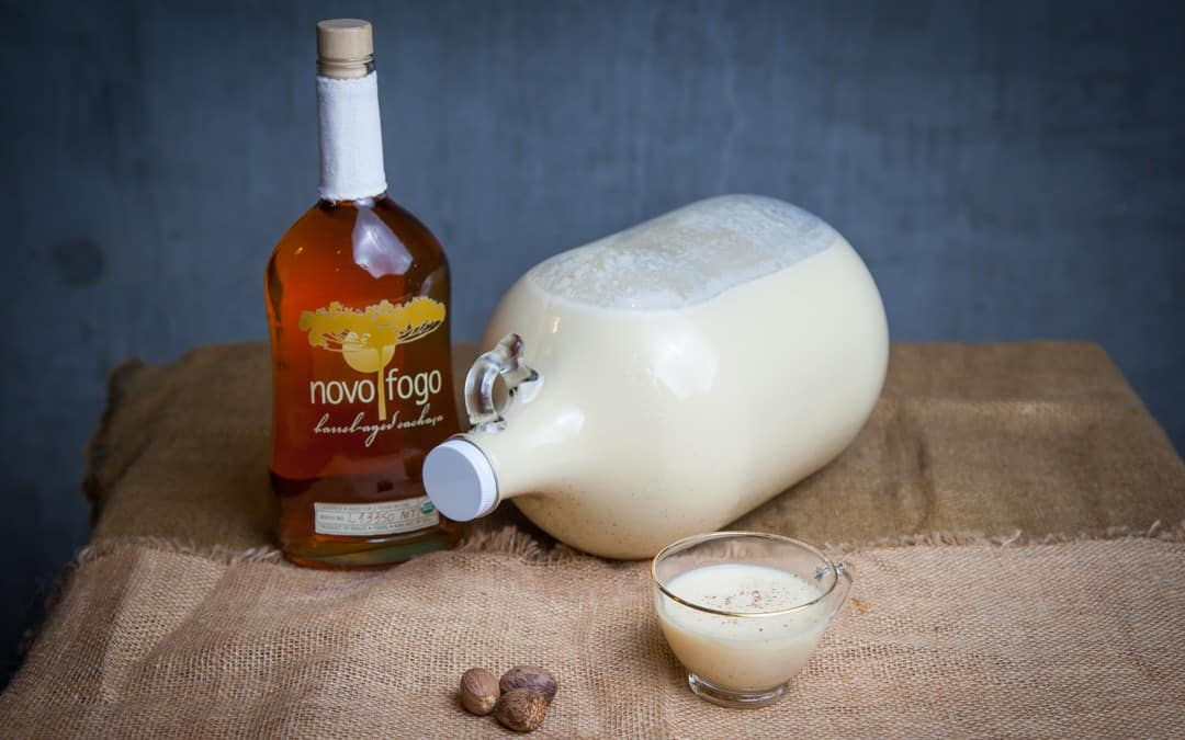How to Make Cachaça-Spiked Eggnog the Easy Way